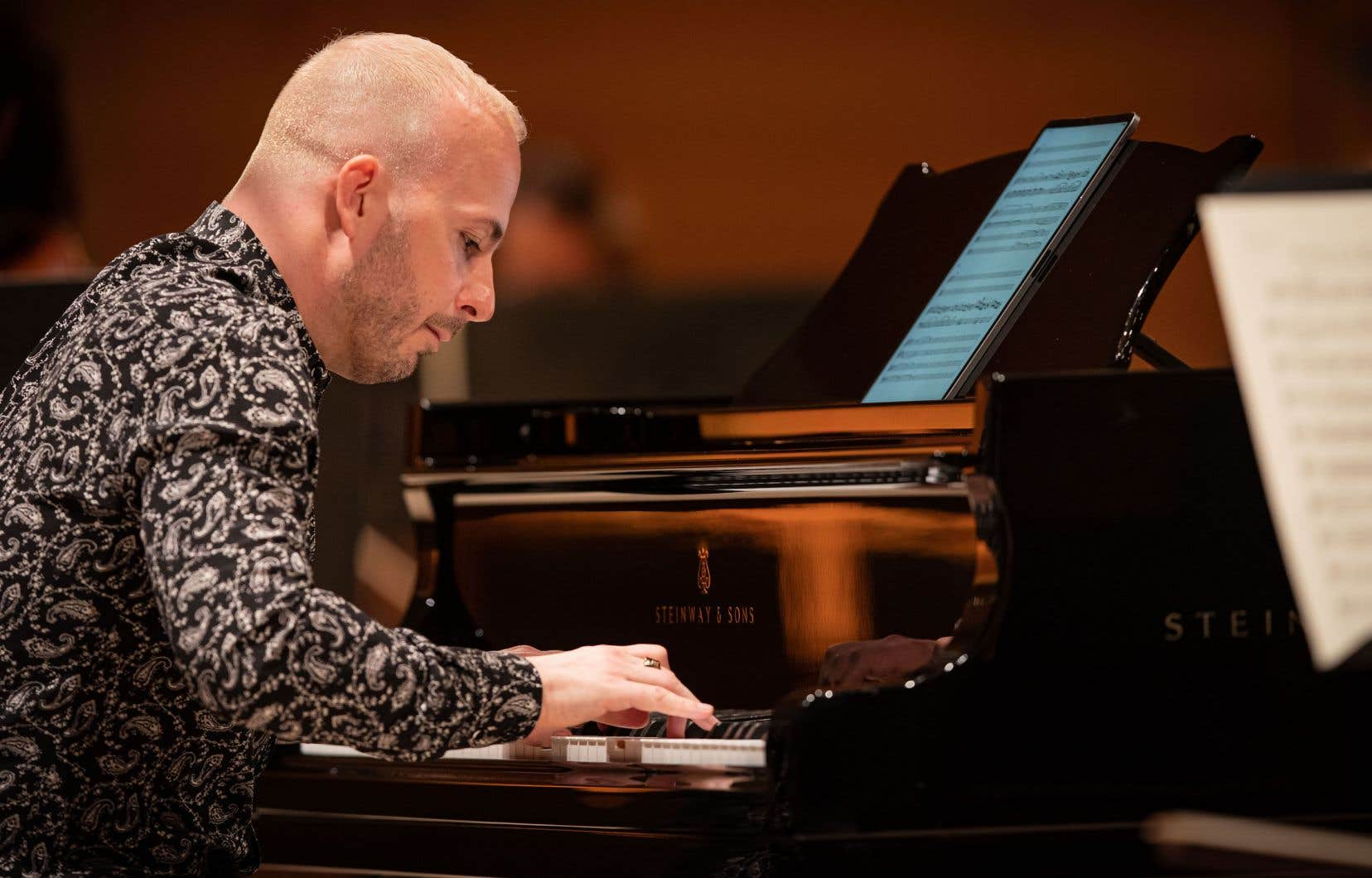 L'OM diffuse jusqu'au 9mai le concert où Yannick Nézet-Séguin s'est mis au piano dans le «12eConcerto» de Mozart, avec en 2epartie une très tonique «3eSymphonie» de Brahms.