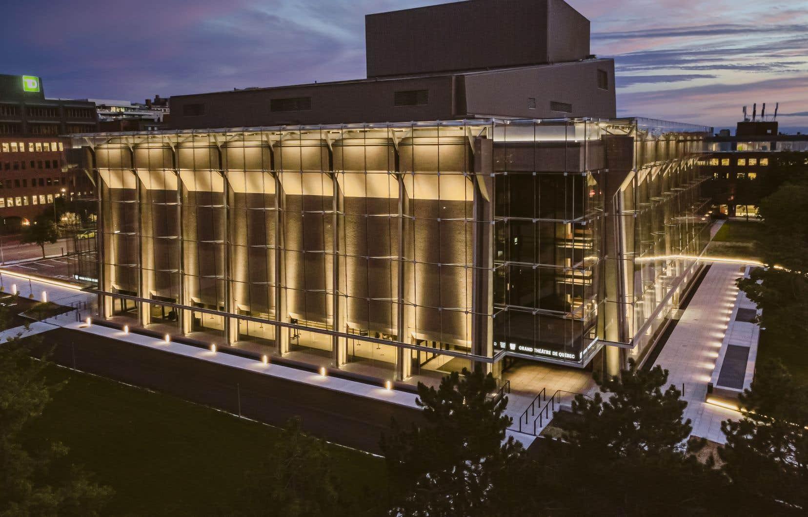 Le Grand Théâtre de Québec, au même titre que BAnQ et Télé-Québec, voit son budget légèrement augmenter.