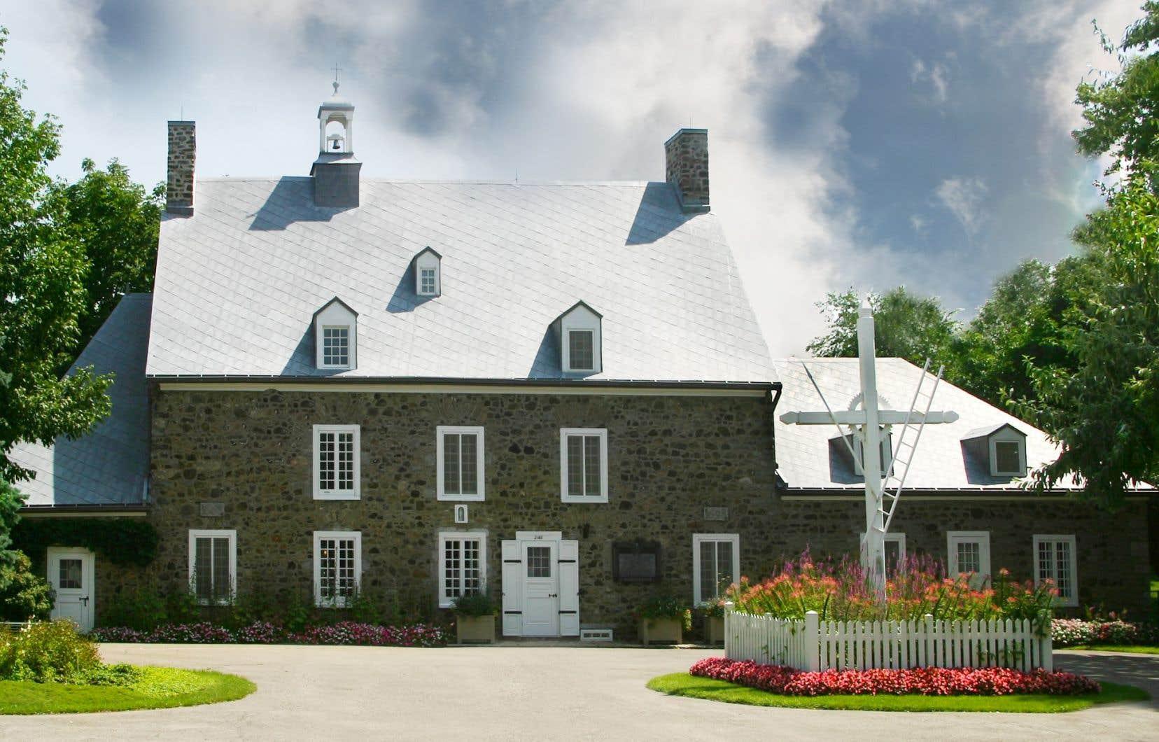 La Maison Saint-Gabriel, située dans le quartier de Pointe-Saint-Charles, a été érigée il y a plus de 350 ans.