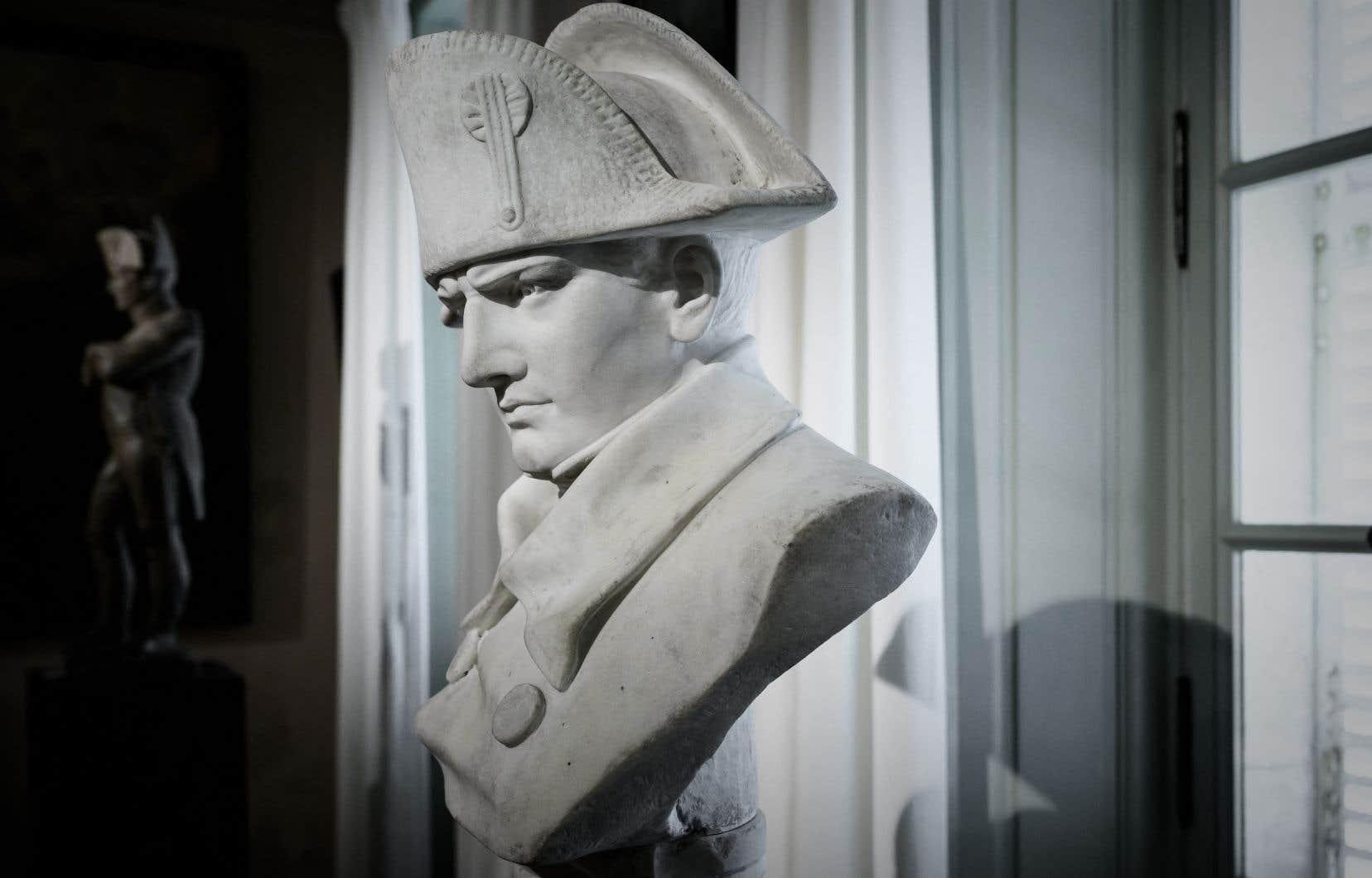 «Napoléon est un personnage complexe et incontournable de l'histoire de la France», écrit l'auteur.