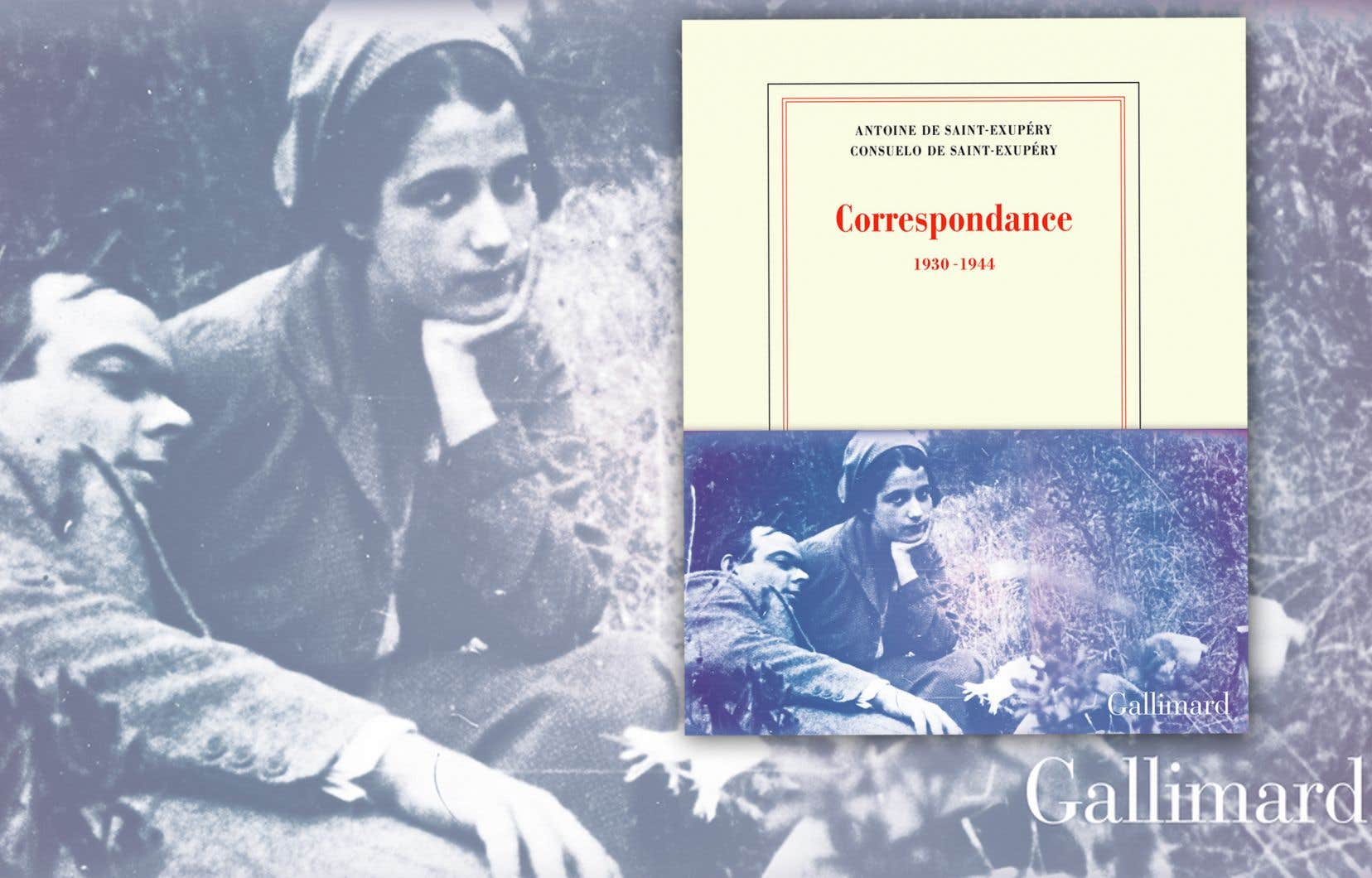 Ces plus de 160 lettres et télégrammes que s'envoient les époux entre 1930 et 1944 sont publiés jeudi par Gallimard, dans une édition riche en illustrations.