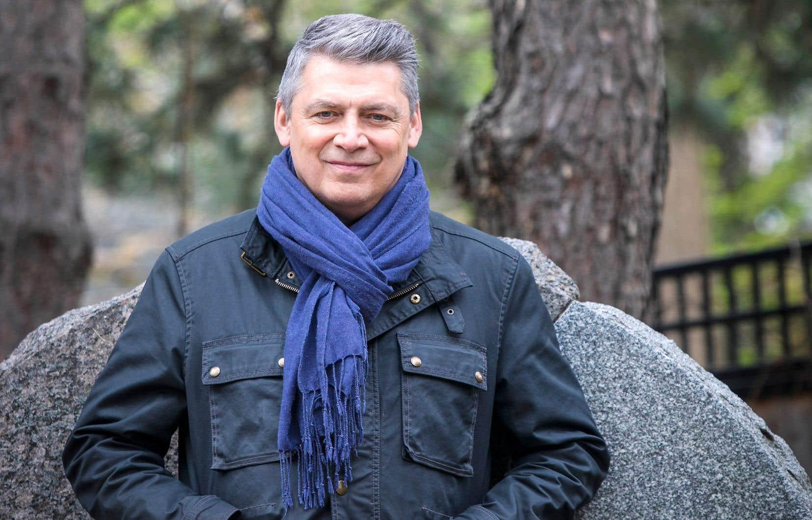 Michel Jean, auteur du roman «Kukum»