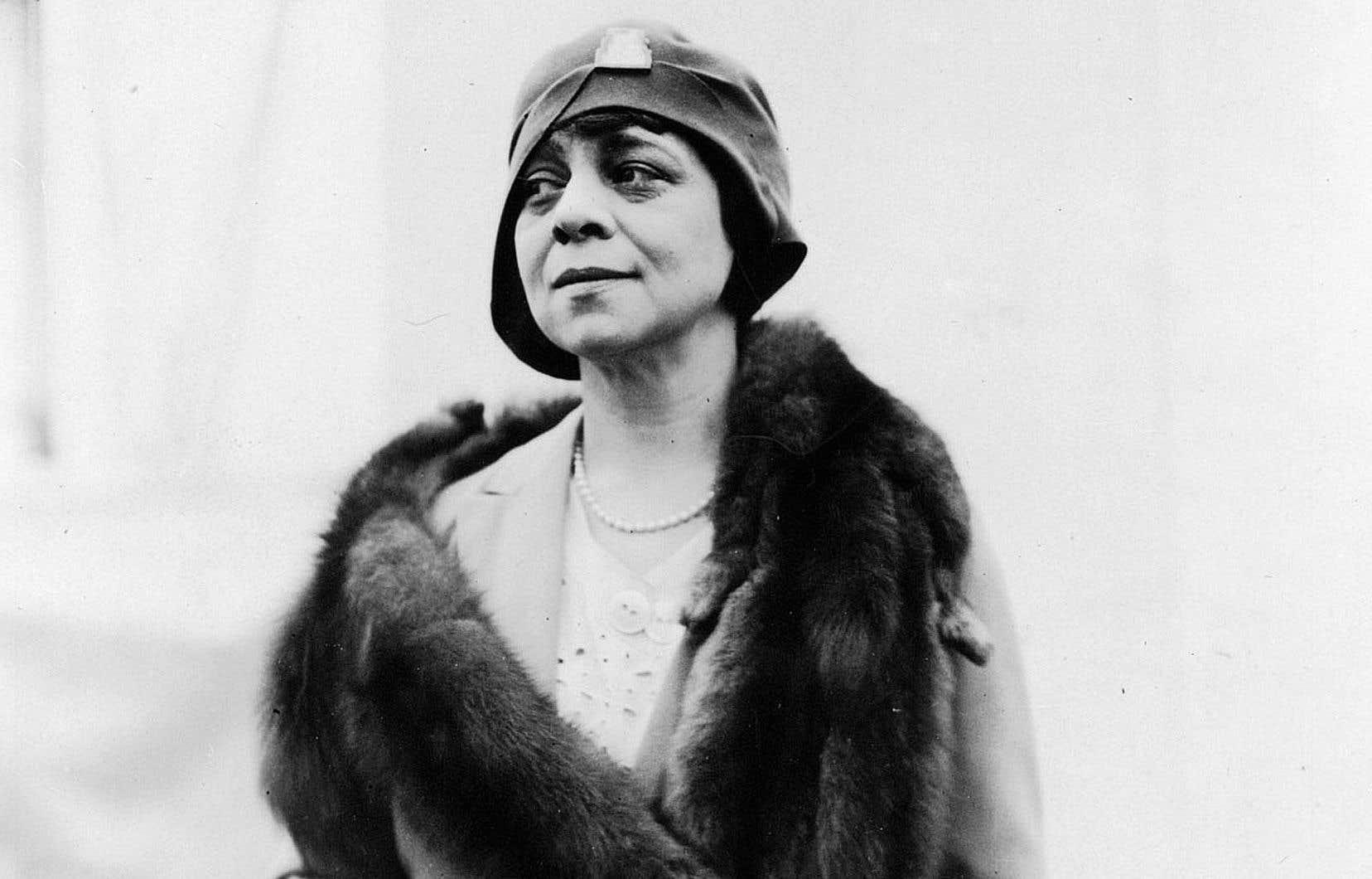 La romancière Alexandra Lapierre a trouvé en Belle Greene (1883-1950) un personnage des plus romanesques.