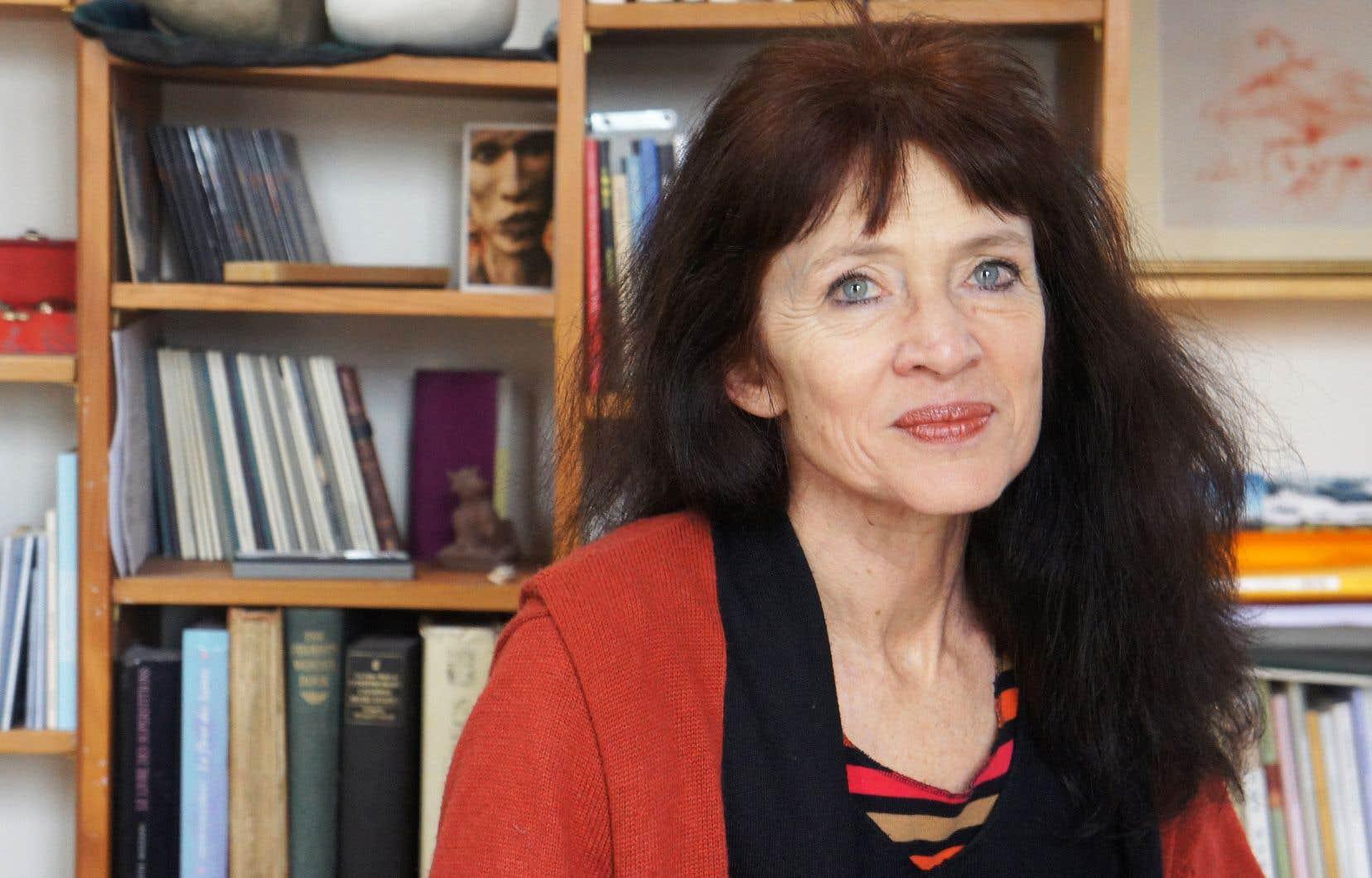 L'autrice Nancy Huston traite en vrac de ses sujets de prédilection.
