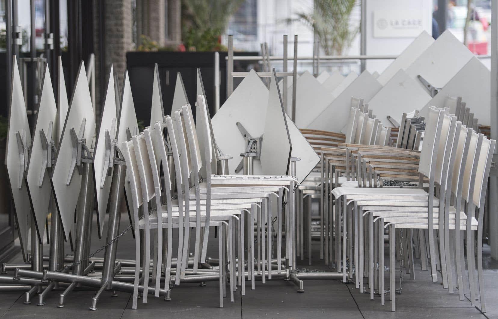 Selon le directeur général du Montréal centre-ville, Glenn Castanheira, les terrasses seront essentielles pour générer de l'achalandage dans le centre-ville.