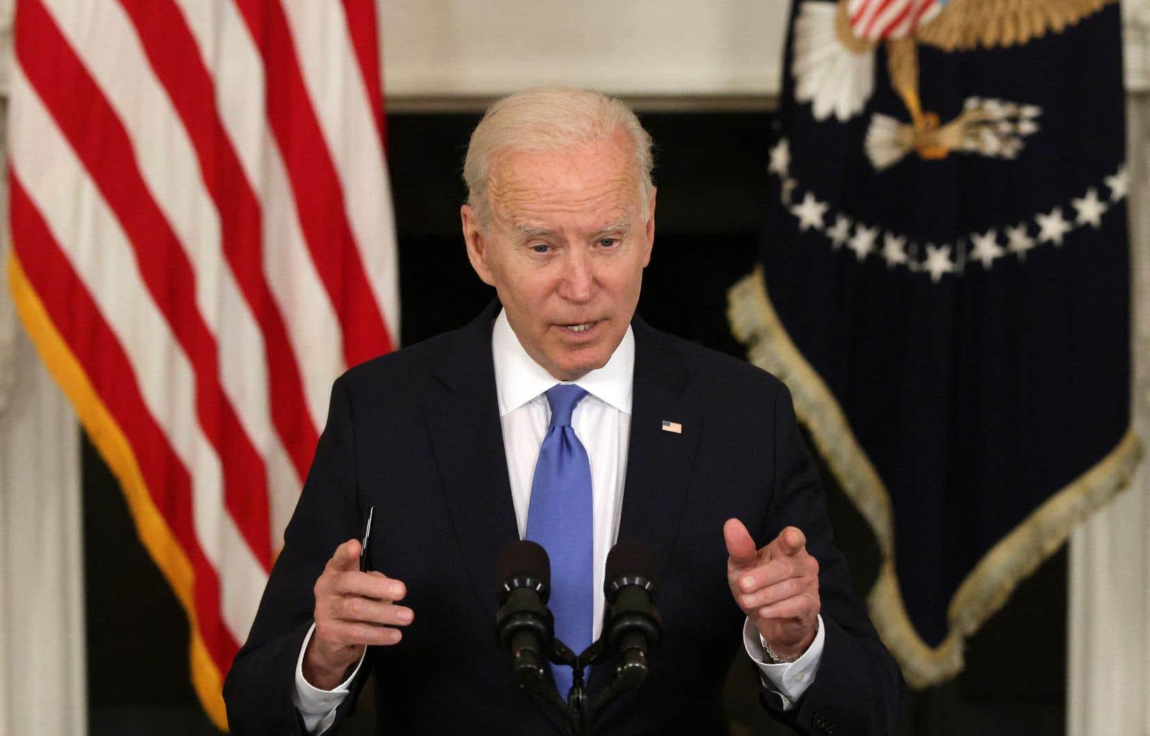 Le président américain, Joe Biden, est d'avis qu'une levée des brevets permettrait d'accélérer la production et la distribution des vaccins anti-COVID partout dans le monde.