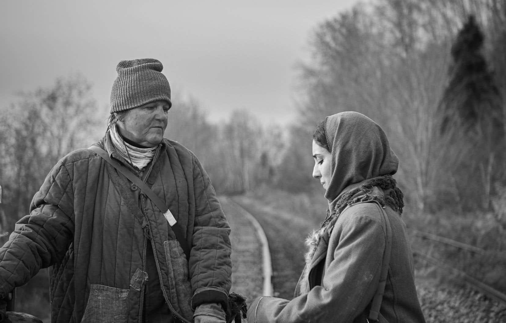 Avec «Nulle trace», le cinéaste québécois Simon Lavoie convie les cinéphiles à un périple poétique.