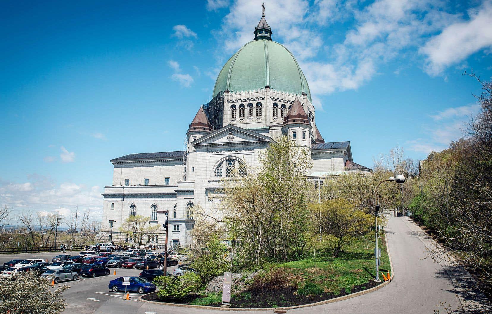 Les travaux de rénovation de l'oratoire Saint-Joseph ont été entamés en novembre 2018.