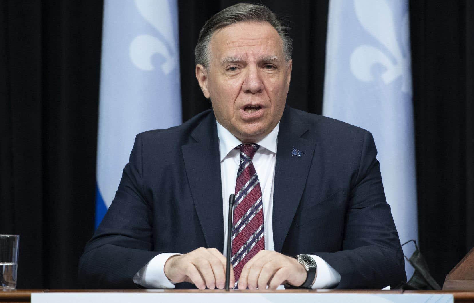 «Je pense qu'il faut évoluer puis il ne faut pas tolérer ça», a conclut le premier ministre, François Legault.