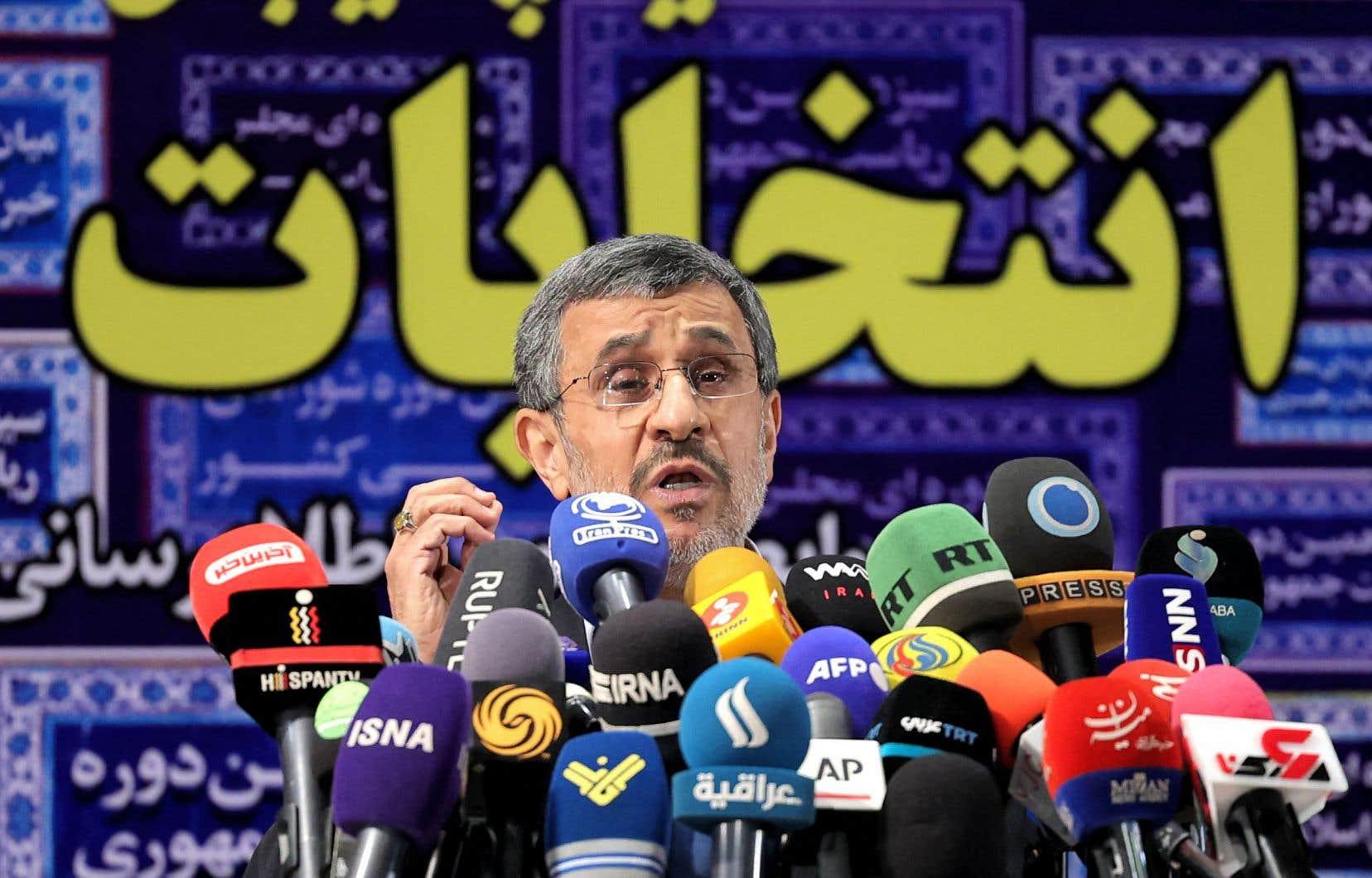 Mahmoud Ahmadinejad a été président de 2005 à 2013.