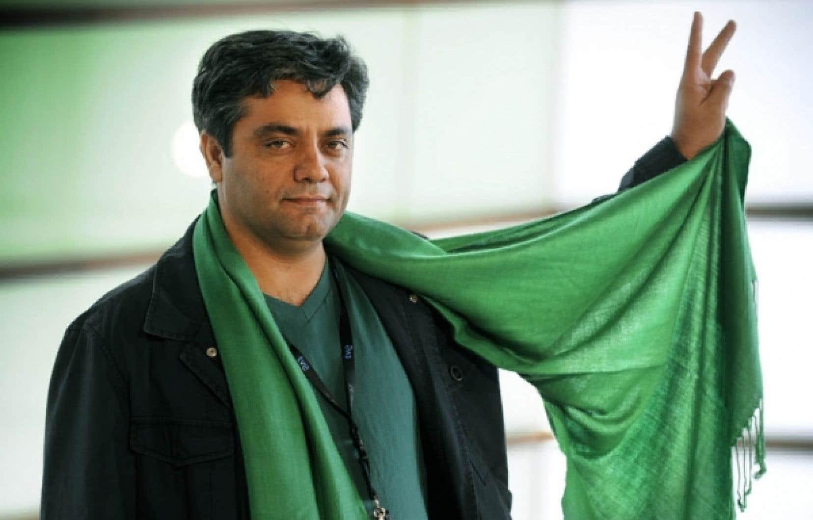 Le cinéaste iranien Mohammad Rasoulof, photographié ici au Festival de San Sebastian en 2009, sera à Cannes avec un film réalisé sous le manteau, intitulé Au revoir. <br />