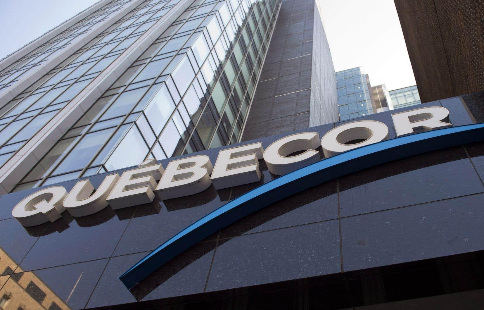 Les revenus de Québecor se sont élevés à 1,09milliard au plus récent trimestre, comparativement à 1,05milliard un an plus tôt, une hausse de 3,4%.