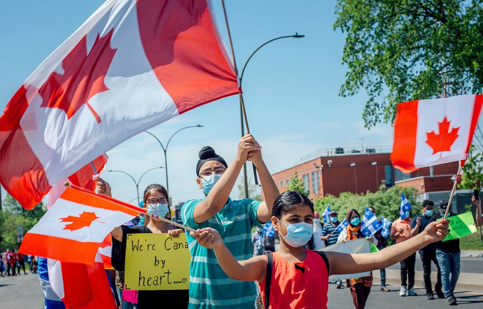 Dimanche, dans le quartier Villeray, les organismes Afrique au féminin et United Refugees Council Canada ont réclamé des gouvernements un plan d'immigration «pour inclure tout le monde».