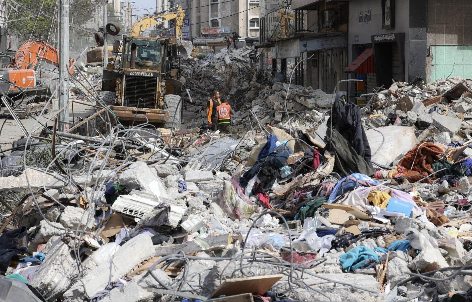 Dimanche a vu le plus lourd bilan de victimes palestiniennes depuis la reprise des hostilités, le 10 mai.