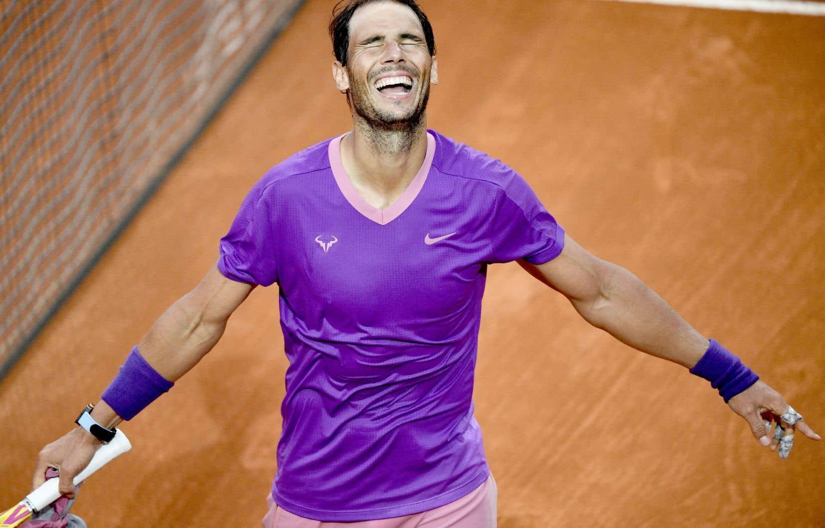 Vainqueur à Rome, Nadal met maintenant le cap sur Paris et les Internationaux de France.