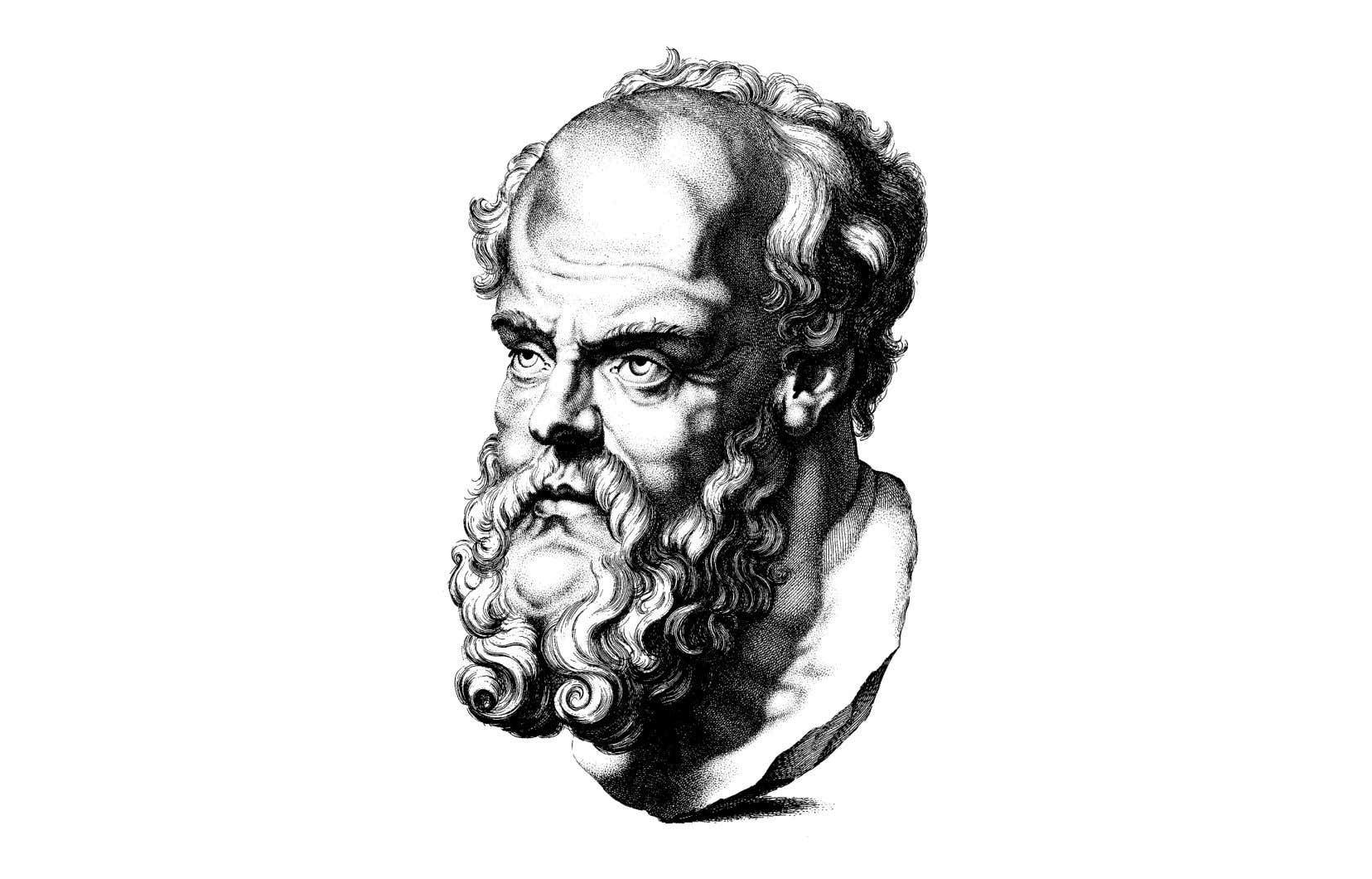 «Dès le début d'un dialogue sur un sujet litigieux, Socrate demande aux interlocuteurs d'ouvrir leur esprit aux idées différentes des leurs. Il exige de lui-même et des autres que personne ne prétende savoir d'avance la conclusion de la discussion à venir», écrit l'auteur.