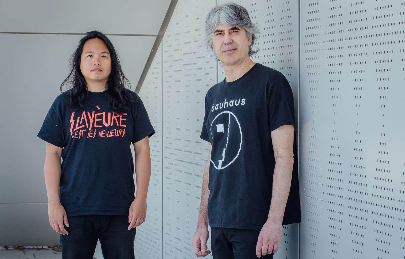 Le duo composé de Thisquietarmy et Away lancera un second disque samedi.