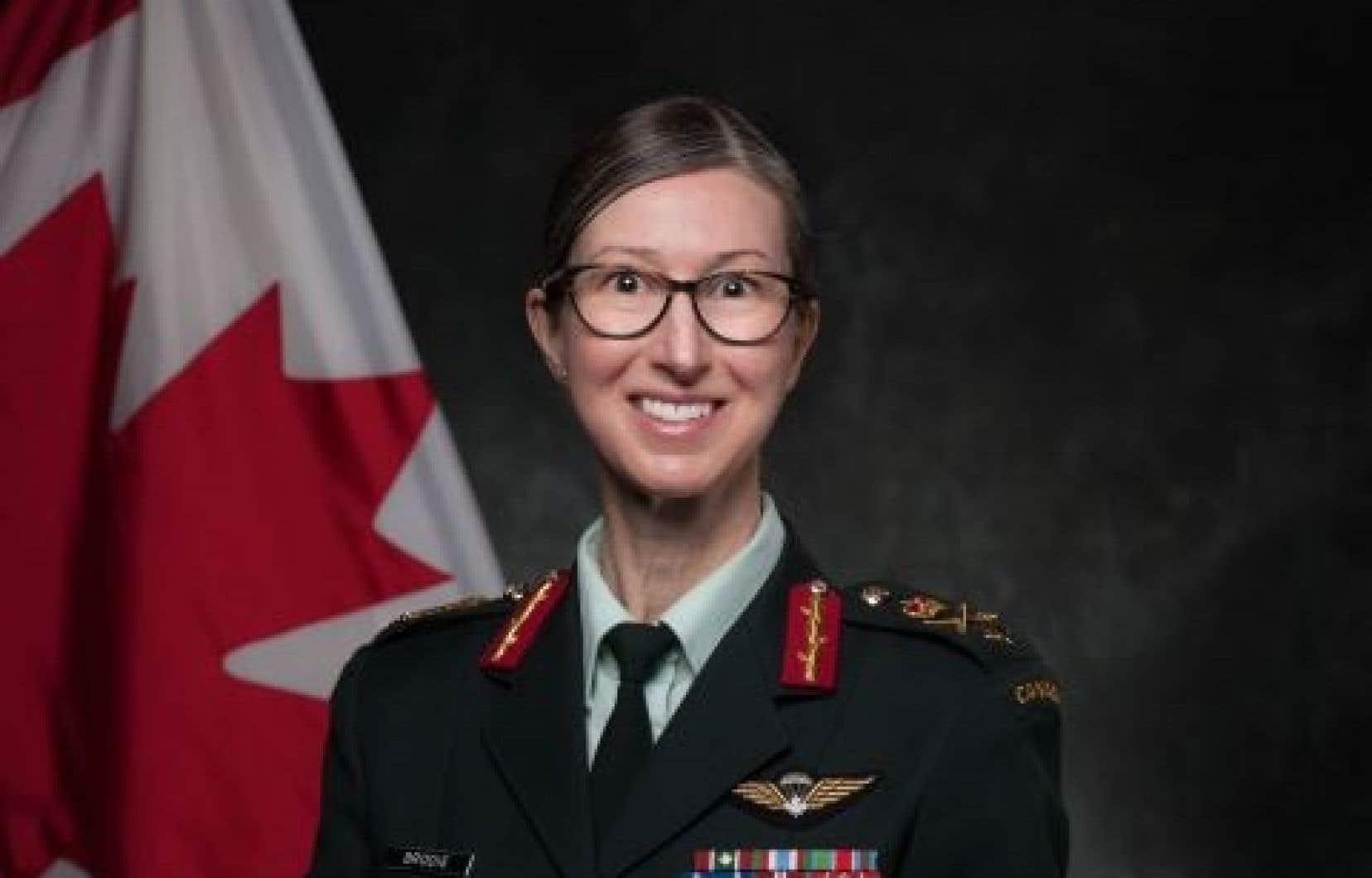 La brigadier général Krista Brodie