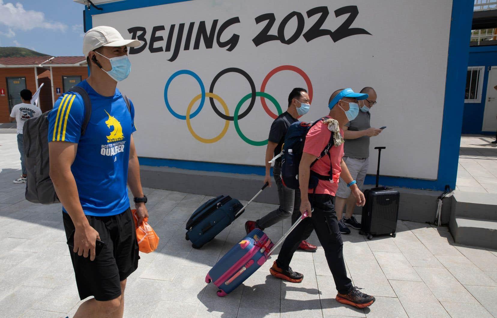 La demande de boycottage survient à la veille d'une audience conjointe au Congrès américain qui doit porter sur les Jeux olympiques de Pékin et le bilan de la Chine en matière des droits de la personne.