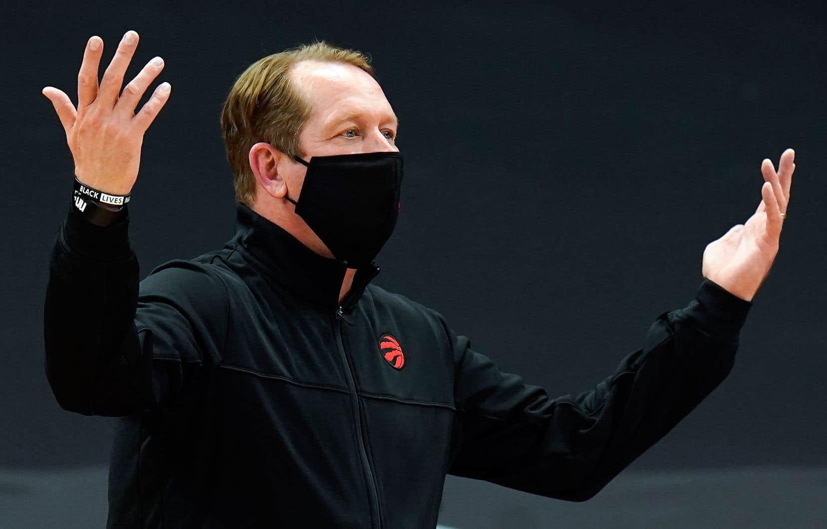 L'entraîneur-chef des Raptors, Nick Nurse