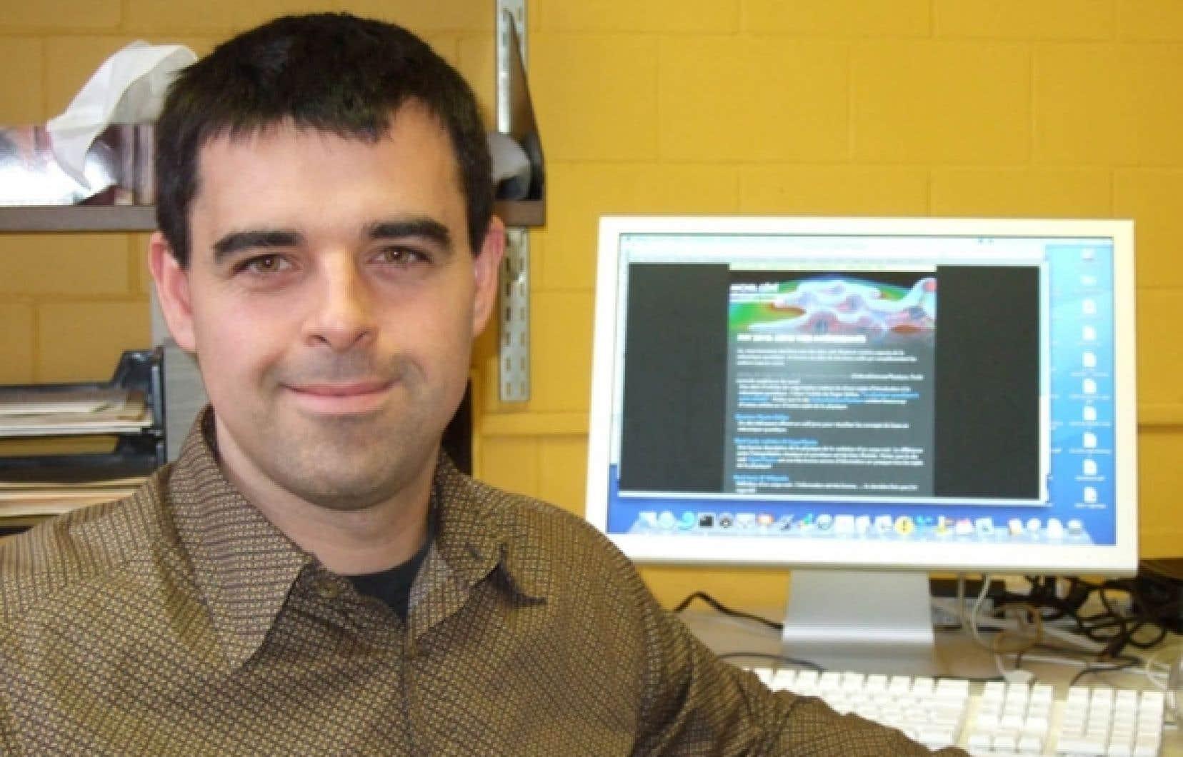 Michel Côté, professeur au Département de physique de l'Université de Montréal<br />