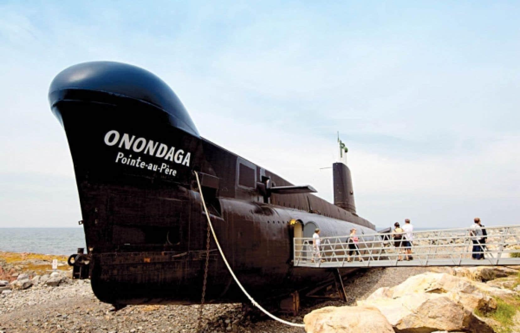 Le site historique maritime de la Pointe-au-P&egrave;re ouvre les portes &mdash; et la salle des torpilles &mdash; de l&rsquo;ex-sous-marin de guerre Onondaga.<br />