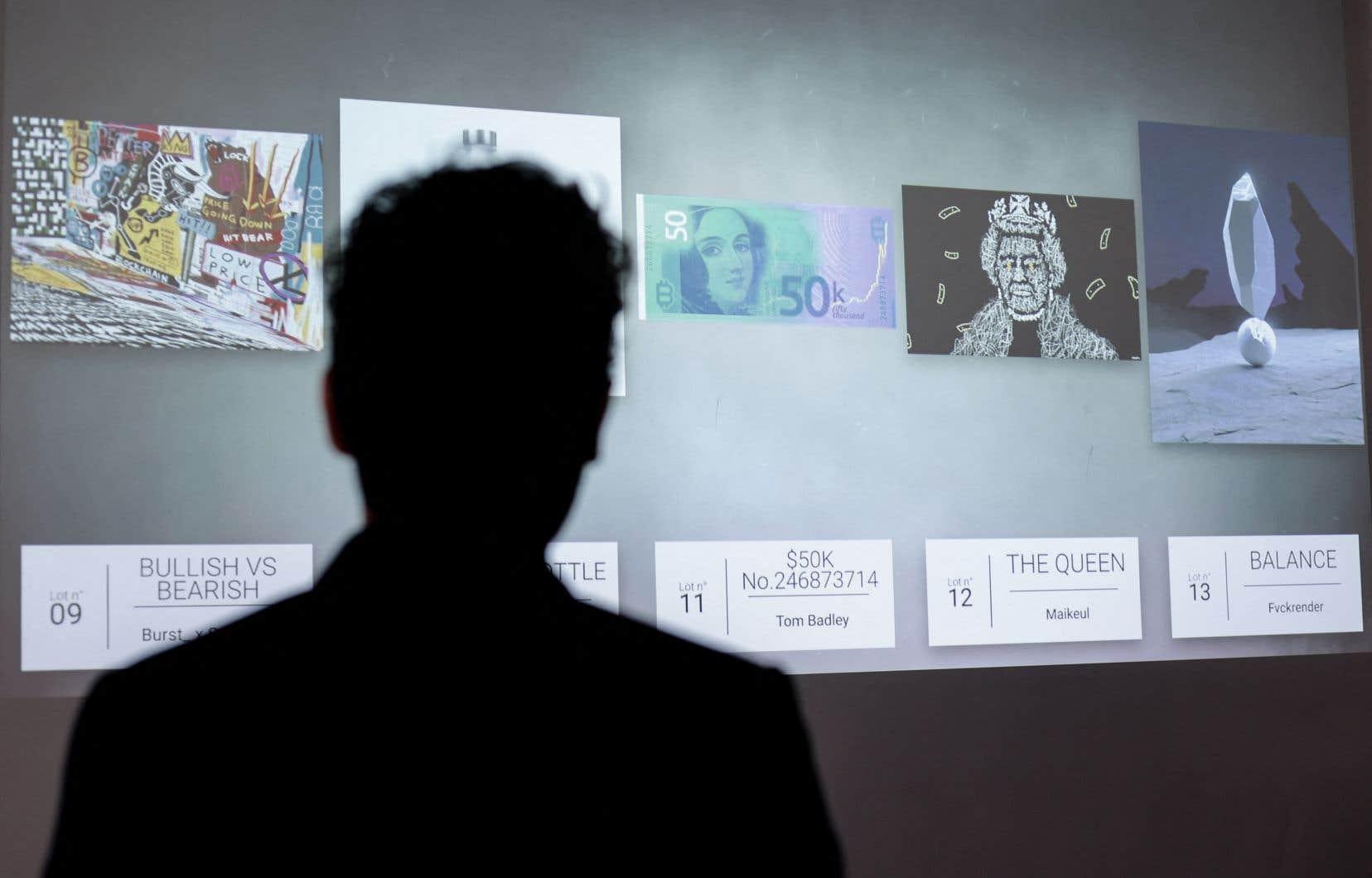 La maison française Millon organise jeudi sa toute première vente à Bruxelles de treize œuvres «NFT».