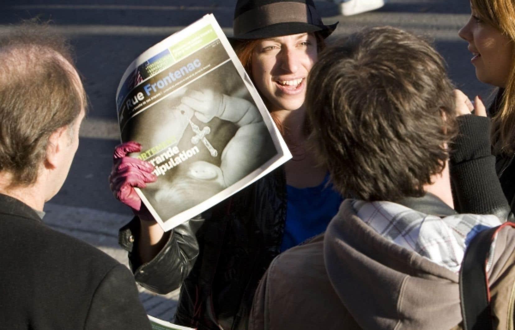 Un dérivé hebdomadaire de Rue Frontenac en papier lancé en 2010 a cessé deparaître le 28 avril dernier.