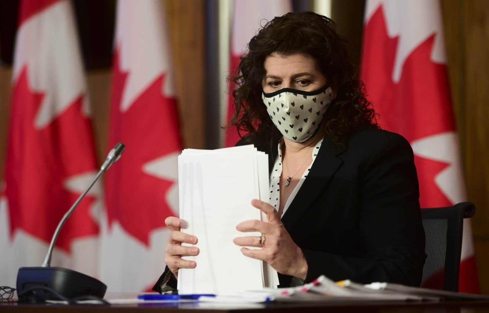 La vérificatrice générale du Canada, Karen Hogan