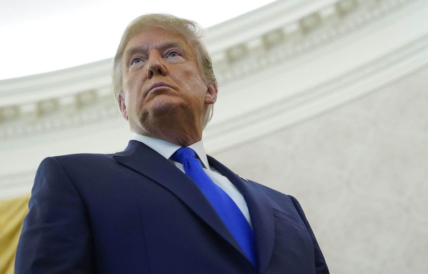 S'il est inculpé, Trump sera le permier président ayant été inculpé dans une affaire pénale aux États-Unis.