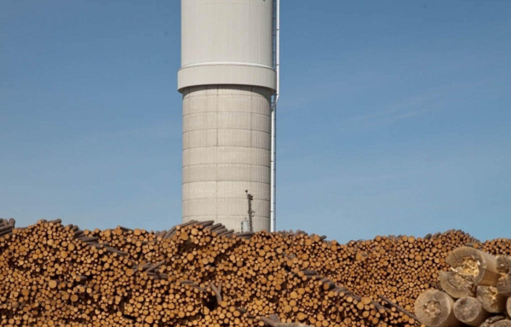 L'économie de Hearst est aujourd'hui dépendante des géants forestiers.<br />