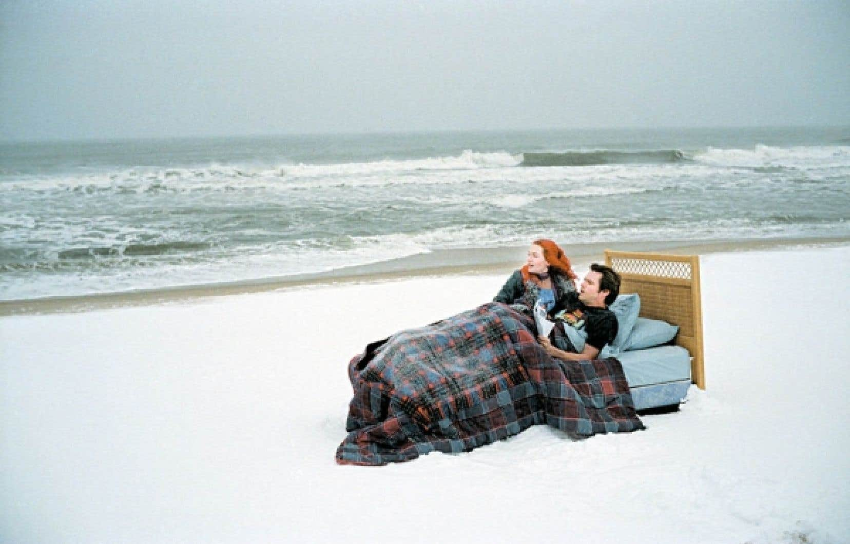 Jim Carrey et Kate Winslet dans Eternal Sunshine of a Spotless Mind.<br />