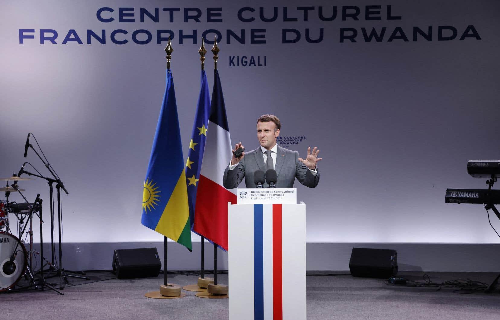 Pour Emmanuel Macron, la France n'a cependant «pas été complice» des génocidaires, ce qu'avait également conclu le rapport d'historiens dirigé par Vincent Duclert remis en mars.