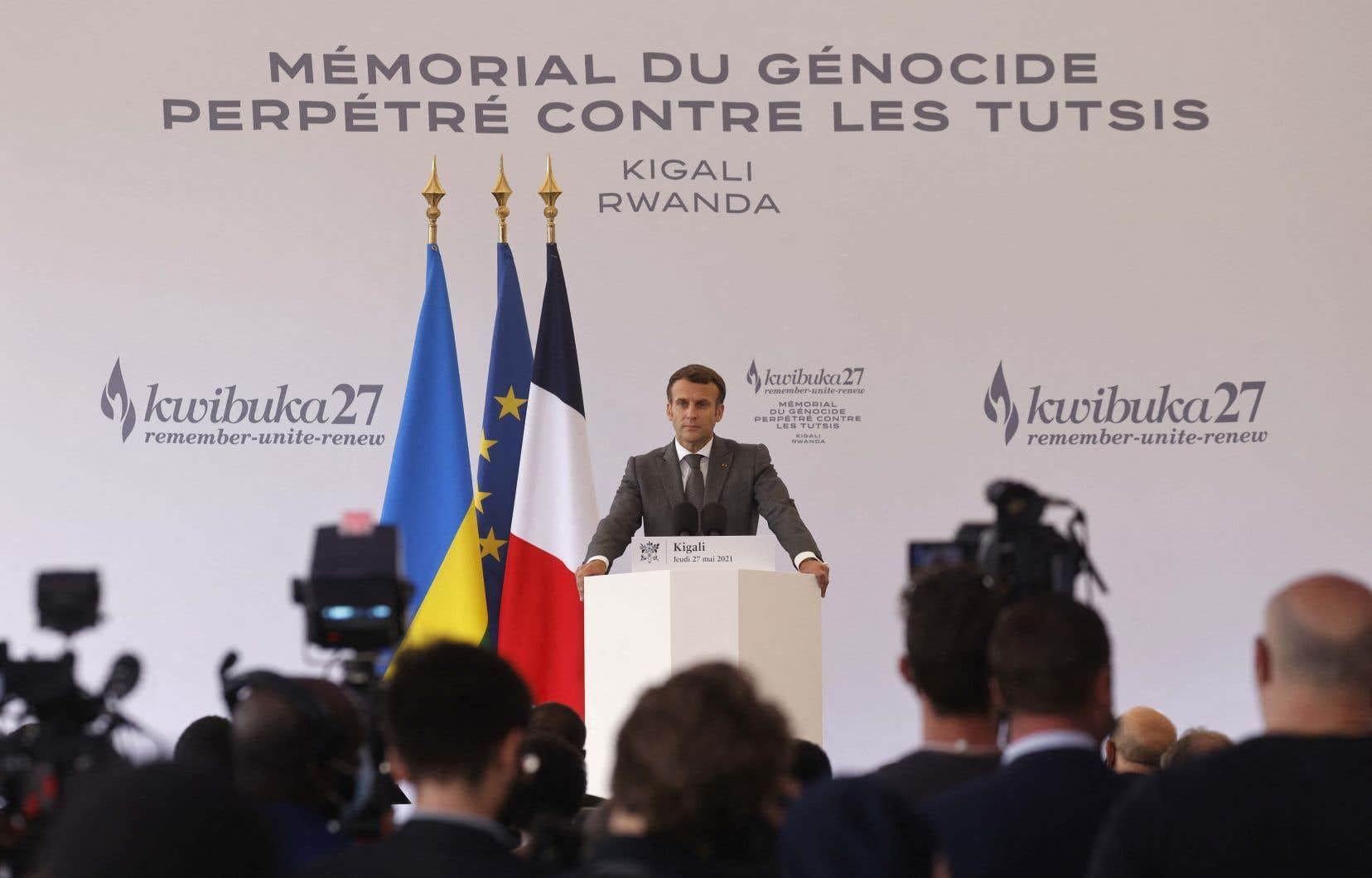 Jeudi, dans un discours d'à peine 15minutes, le président Emmanuel Macron semble avoir mis un point final à cette guerre de tranchées qui déchirait la francophonie.