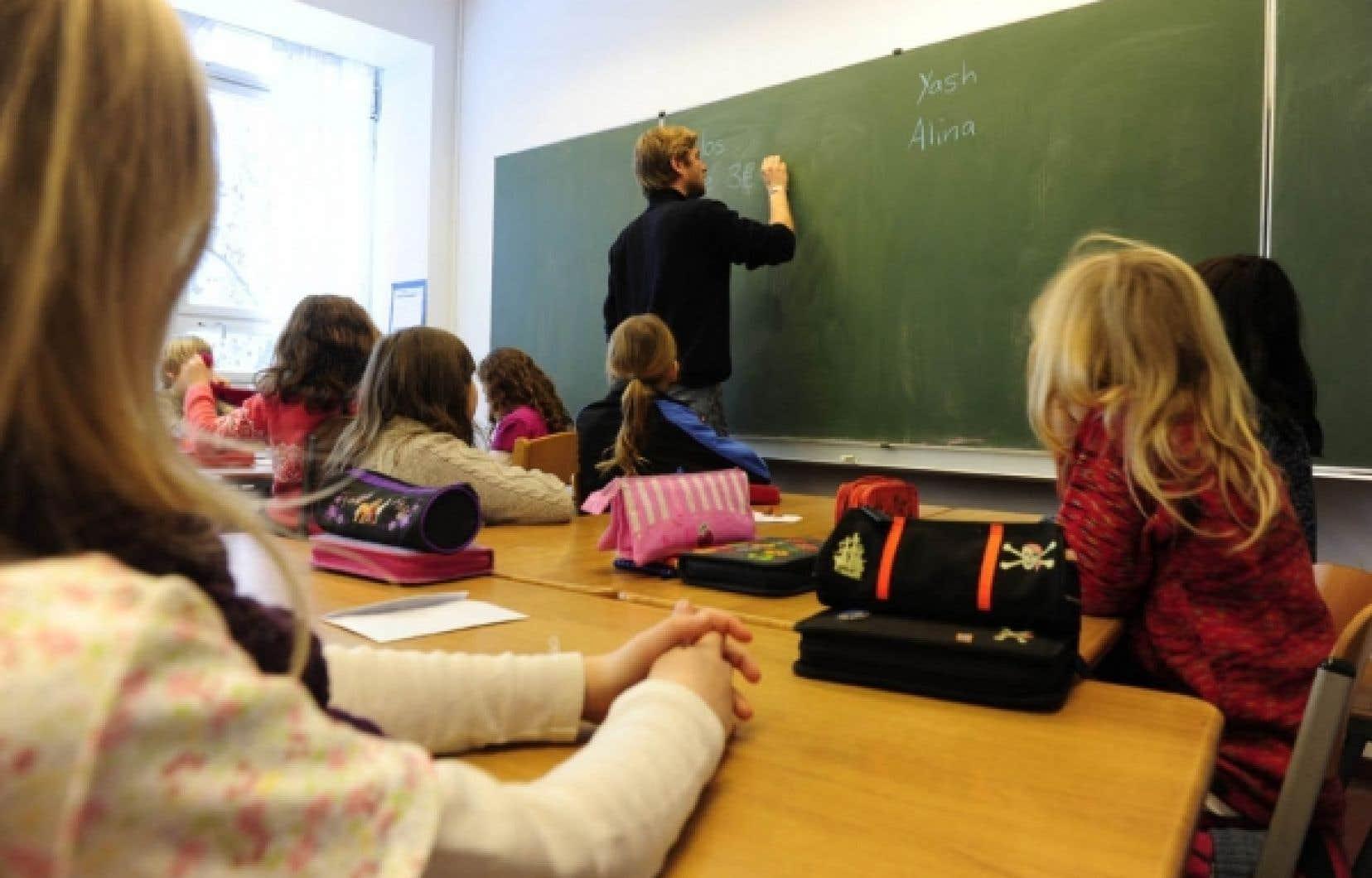 L'entente prévoit des balises sur la composition de la classe.