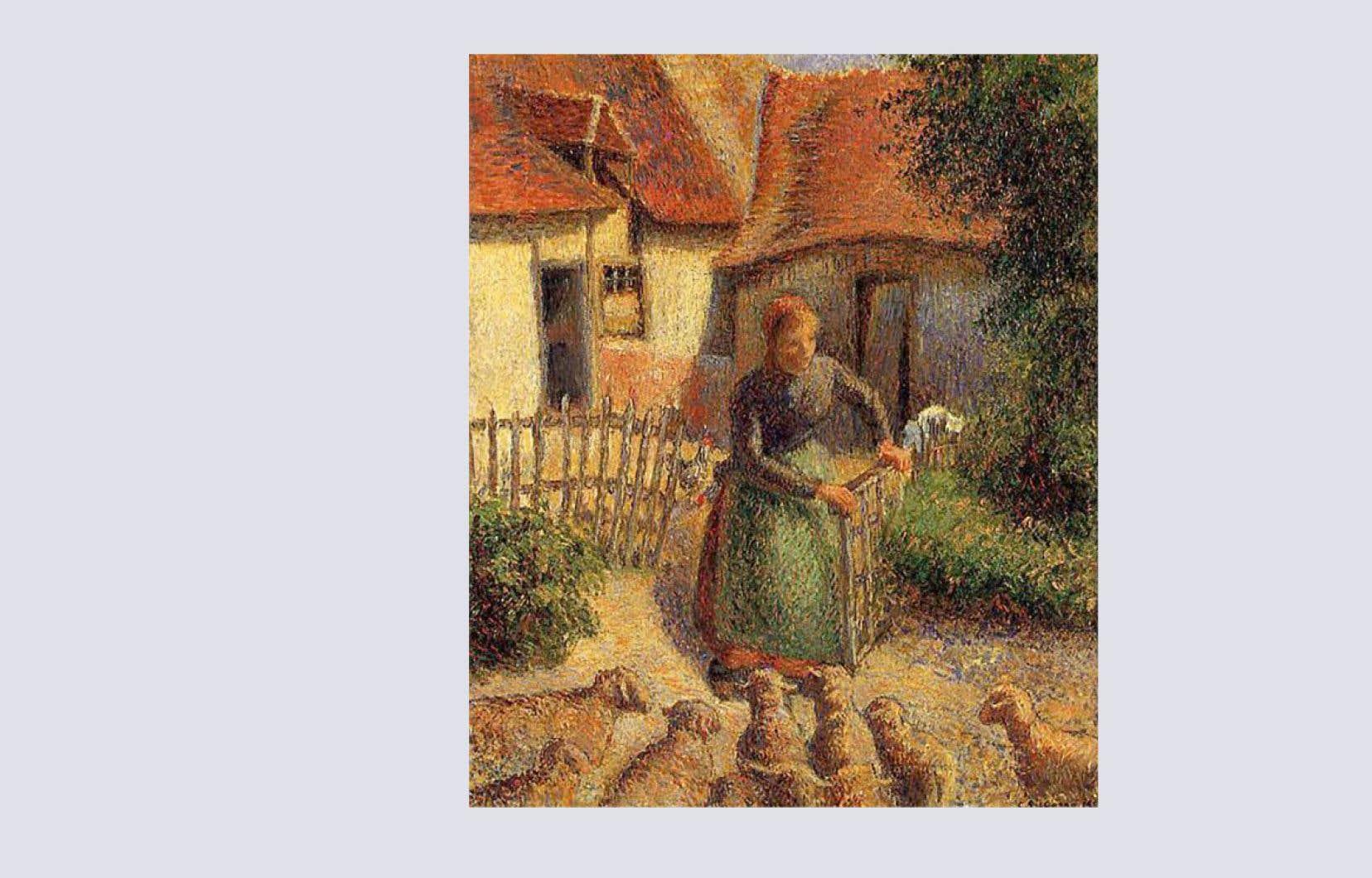 Selon l'accord conclu entre les deux parties, le tableau «La bergère rentrant des moutons», une œuvre peinte par Camille Pissarro en 1886 et actuellement hébergé au musée d'Orsay, à Paris, reviendra aux États-Unis cet été.