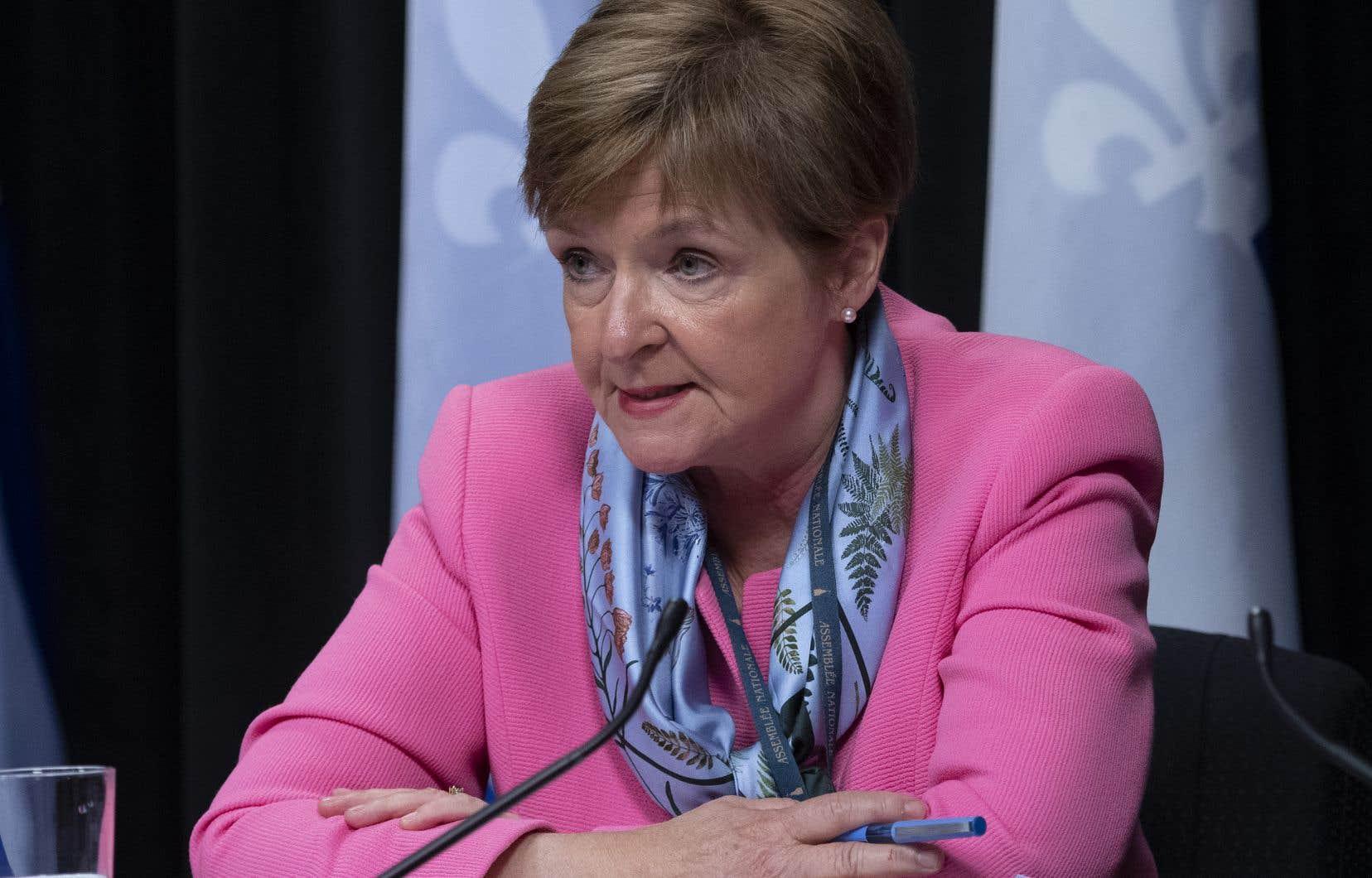 La vérificatrice générale Guylaine Leclerc