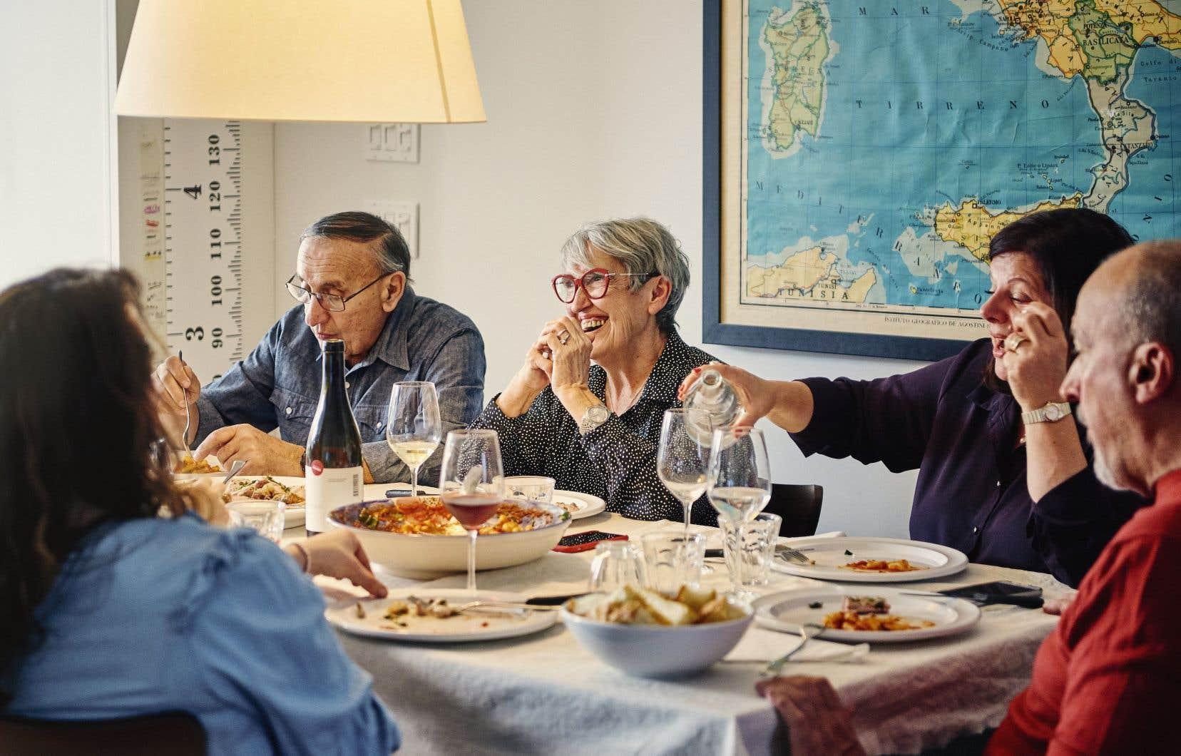 «Chez les Italiens, le repas est associé au plaisir de partager un moment avec sa famille. Il y a toujours quelque chose de très festif dans les repas italiens, et ça marque les esprits.»