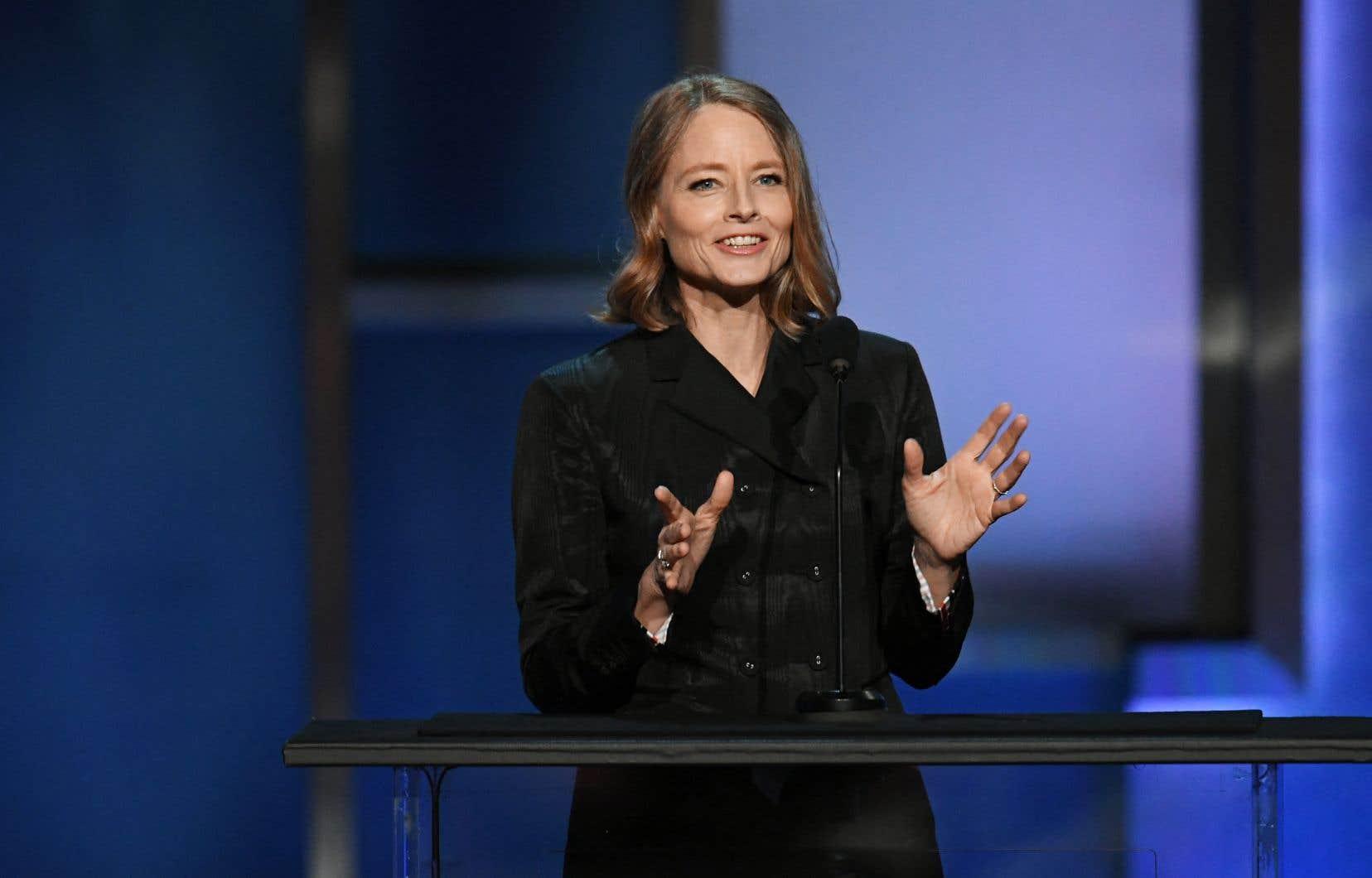 L'actrice et réalisatrice américaine Jodie Foster
