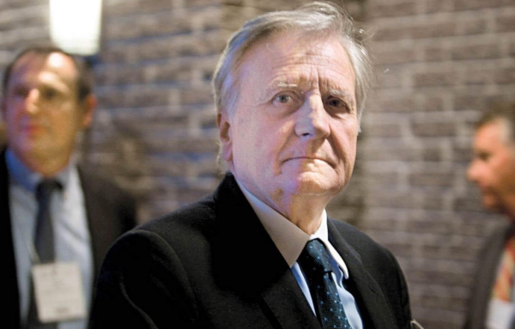 Le président de la Banque centrale européenne (BCE), Jean-Claude Trichet.