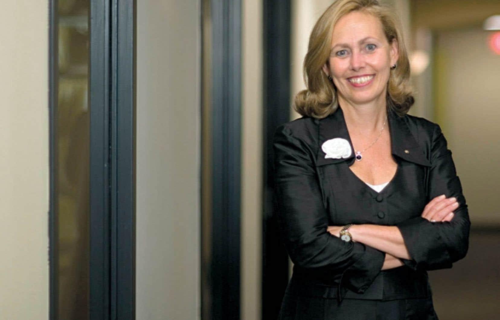 Monique Leroux: «De bonnes candidatures, il y en a. Et il va y en avoir encore plus. Le talent est présent. Il faut le mettre en action.»<br />
