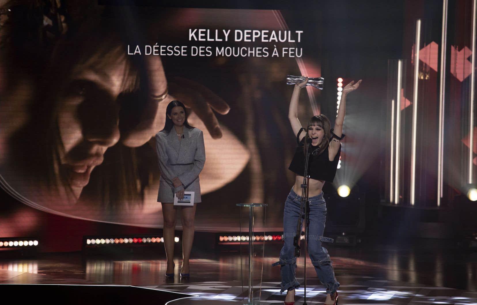 Kelly Depeault a remporté l'Iris de la révélation de l'année pour son rôle de Catherine dans «La déesse des mouches à feu».