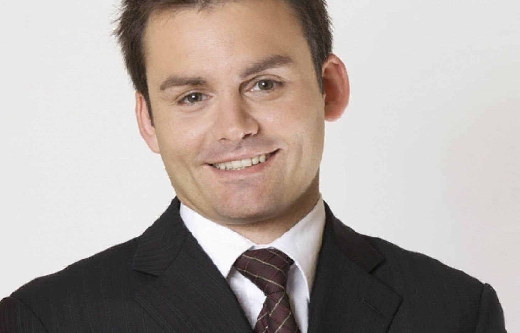 Le président de Génération d'idées, Paul St-Pierre Plamondon.