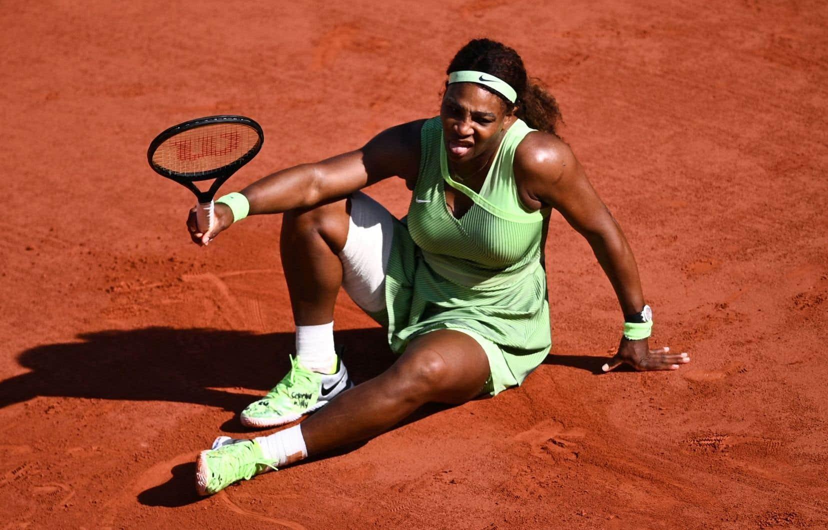 Serena Williams n'a pas gagné de titre majeur depuis 2017. Elle présentait jusqu'ici une fiche de 13-0 en carrière contre des représentantes du Kazakhstan.