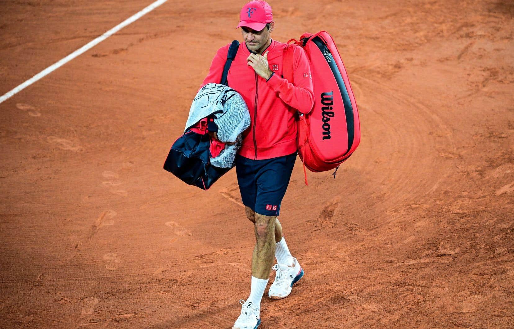 Federer, qui fêtera son 40e anniversaire le 8 août, participait à son premier tournoi majeur depuis les Internationaux d'Australie en 2020. Peu après ce tournoi, il est passé sous le bistouri pour deux opérations au genou droit.