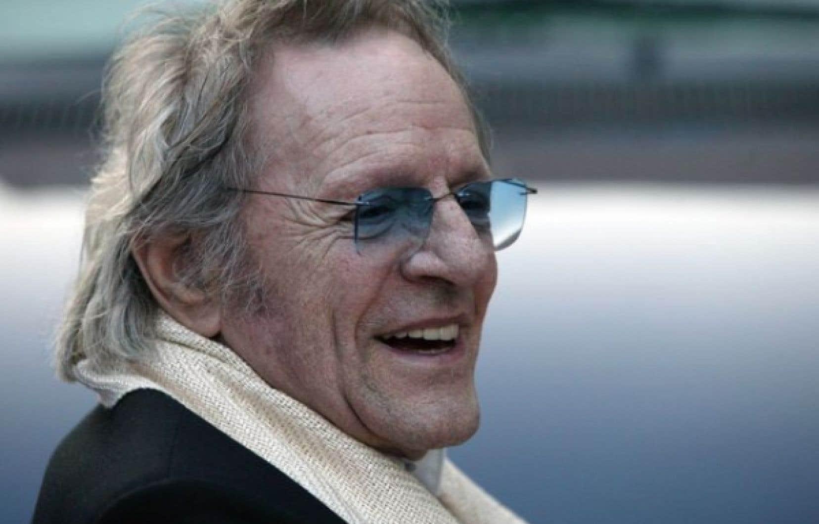 Claude Léveillée en 2006, alors que les FrancoFolies de Montréal lui rendaient hommage. <br />