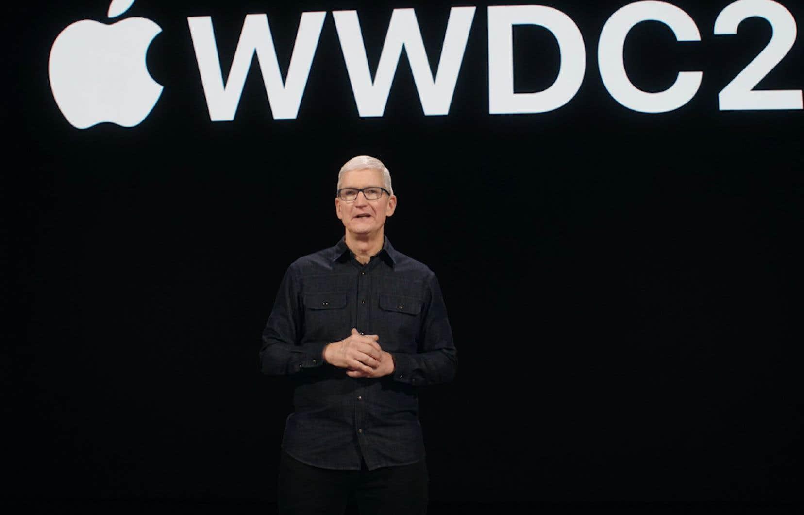 Le virage numérique de cette année laisse des traces profondes dans les nouveautés présentées lundi par le p.d.-g. d'Apple, Tim Cook, et ses collègues de Cupertino.