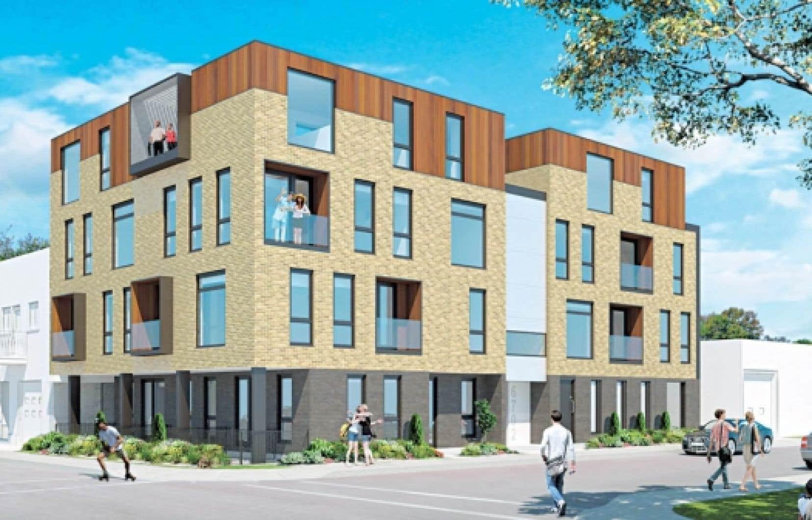 Les dix unit&eacute;s de condo du Jeanne-Mance offriront trois styles d&rsquo;habitation distincts. <br />