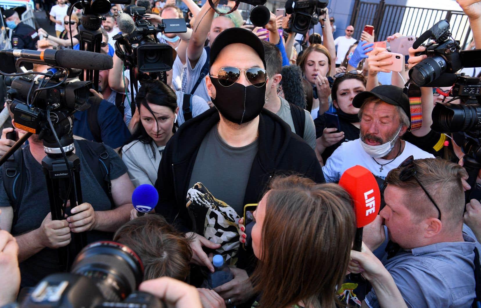Kirill Serebrennikov été condamné fin juin 2020 à trois ans de prison avec sursis et à une amende dans une affaire de détournement de subventions publiques qu'il conteste.