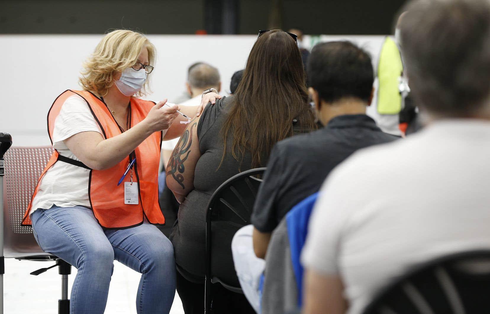 Tous les Manitobains qui auront été vaccinés seront automatiquement inscrits aux tirages.